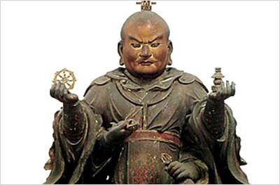 釈迦如来立像(重要文化財)
